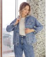 Куртка женская  джинсовая Sport W1671A