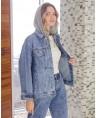 Куртка женская  джинсовая Sport W1671A - фото 3