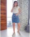 Юбка женская джинсовая W1682A