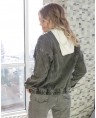 Куртка джинсовая женская Sport W1670A - фото 3