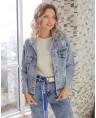 Куртка джинсовая женская Sport W1662A