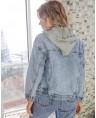 Куртка джинсовая женская Sport W1662A - фото 3
