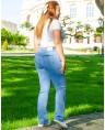 Джинсы женские Classic W706A - фото 2