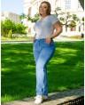 Джинсы женские Classic W708A - фото 3