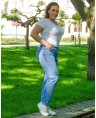 Джинсы женские Classic W707A - фото 3