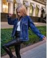 Куртка джинсовая женская Sport W1797B - фото 2