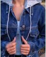 Куртка джинсовая женская Sport W1797B - фото 4