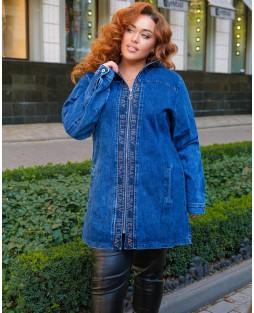 Куртка джинсовая женская Classic W1760B