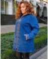 Куртка джинсовая женская Classic W1760B - фото 2