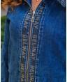 Куртка джинсовая женская Classic W1760B - фото 4