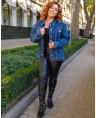 Куртка джинсовая женская Classic W1763B