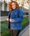 Куртка джинсовая женская Classic W1763B - фото 2