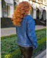 Куртка джинсовая женская Classic W1763B - фото 3