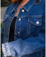 Куртка джинсовая женская Classic W1763B - фото 4