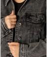 Женская джинсовая куртка W1625A - фото 4