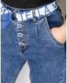 Джинсы женские MOM W9567A - фото 2