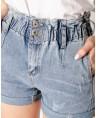 Шорты джинсовые MOM W1592A - фото 4