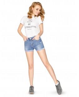 Шорты джинсовые W1595A