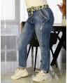 Джинсы женские Boyfriend W1657A - фото 2