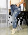 Джинсы женские Boyfriend W1652A - фото 4