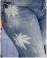 Джинсы женские Boyfriend W1652A - фото 2