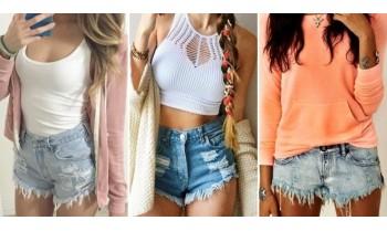 Джинсовые шорты - с чем носить?