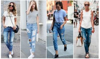 З яким взуттям носити джинси дівчатам